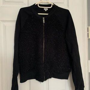Black cute blazer jacket with sparkle...